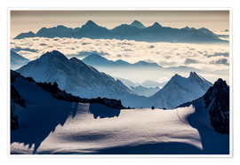 Poster Alps - France