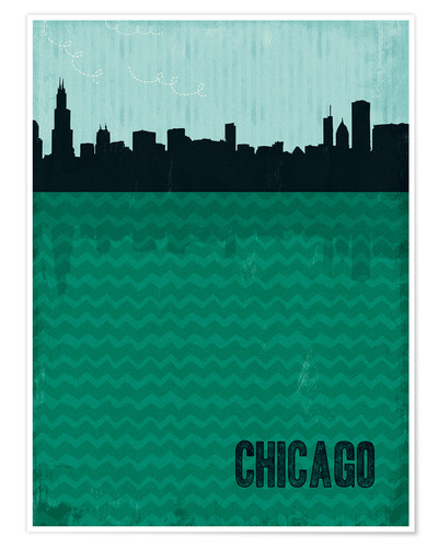 Premiumposter Chicago