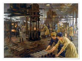 Poster  The Munitions Girls - Stanhope Alexander Forbes