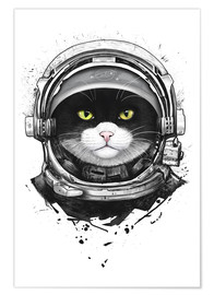 Premiumposter Cosmic Cat