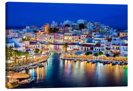 Canvastavla  Agios Nikolaos on the island of Crete