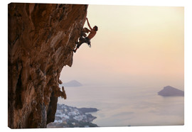 Canvastavla  Climber on Kalymnos - Greece