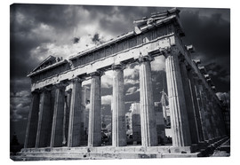 Canvastavla  Parthenon - Acropolis in Athens