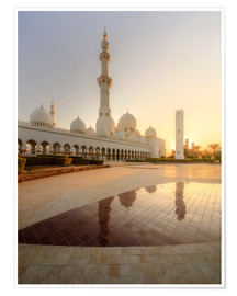 Premiumposter  Sheikh Zayed mosque