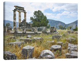 Canvastavla  Athena Pronaia Sanctuary - site of Delphi