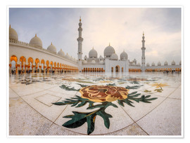 Premiumposter Sheikh Zayed Grand Mosque