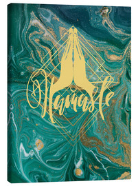 Canvastavla  Namaste - Mandy Reinmuth
