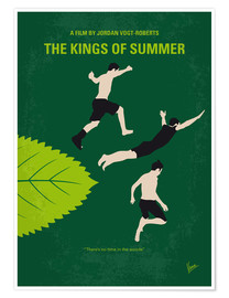 Poster No865 My The Kings of Summer minimal movie poster
