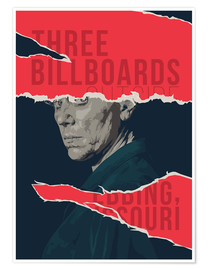 Premiumposter Three billboards outside ebbing missouri