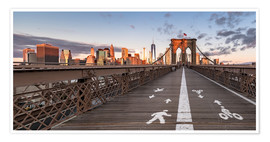 Premiumposter Brooklyn Bridge New York
