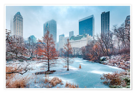 Premiumposter  Winter Central Park, New York - Sascha Kilmer