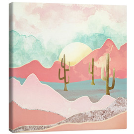 Canvastavla  Desert Mountains - SpaceFrog Designs