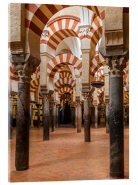 Akrylglastavla  The Mosque of Cordoba