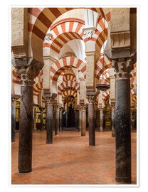 Premiumposter  The Mosque of Cordoba