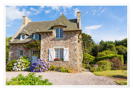 Premiumposter  Country house in the summer