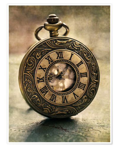 Premiumposter An Old Pocket Watch