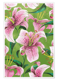 Poster Tiger Lily