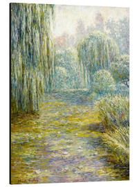 Aluminiumtavla  The garden in Giverny - Blanche Hoschede-Monet