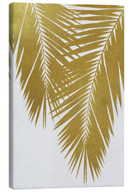 Canvastavla  Palm Leaf Gold II - Orara Studio