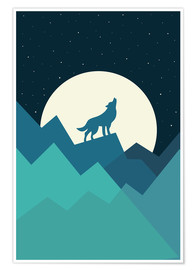 Premiumposter  Keep The Wild In You - Andy Westface