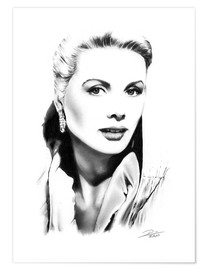 Premiumposter Hollywood Diva - Grace Kelly