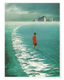 Poster  Waiting For The Cities To Fade Out - Frank Moth