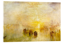 Akrylglastavla  Going to the Ball (San Martino) - Joseph Mallord William Turner