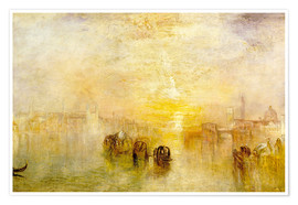 Poster  Going to the Ball (San Martino) - Joseph Mallord William Turner