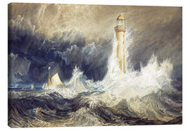 Canvastavla  Bell Rock Lighthouse - Joseph Mallord William Turner