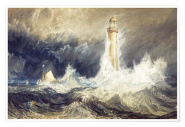 Premiumposter Bell Rock Lighthouse