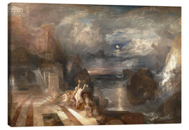 Canvastavla  The Parting of Hero and Leander - Joseph Mallord William Turner