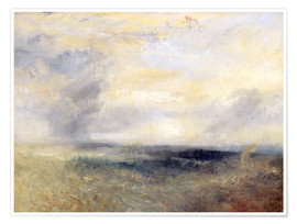 Premiumposter  Margate from the Sea - Joseph Mallord William Turner