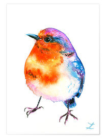 Poster Cheerful Robin