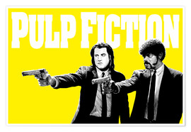 Premiumposter Pulp Fiction Yellow BANG