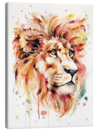 Canvastavla  All Things Majestic (Lion) - Sillier Than Sally