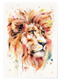 Premiumposter  All Things Majestic (Lion) - Sillier Than Sally