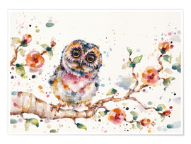 Premiumposter  Yep Cute Is My Middle Name (baby Owl) - Sillier Than Sally