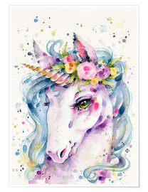 Poster  Little unicorn - Sillier Than Sally