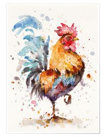 Premiumposter  Proud Rooster - Sillier Than Sally