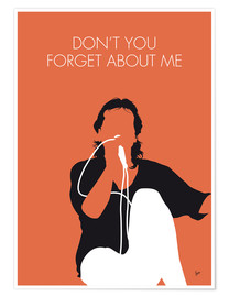Premiumposter Simple Minds - Don't You Forget About Me