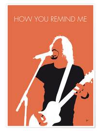 Premiumposter Nickelback - How You Remind Me