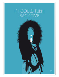 Premiumposter Cher - If I Could Turn Back Time