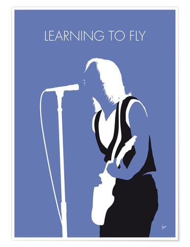 Premiumposter Tom Petty - Learning To Fly