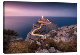 Canvastavla  Evening light at Cap Formentor (Mallorca / Spain) - Kristian Goretzki