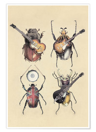 Premiumposter  Meet the Beetles - Eric Fan