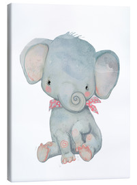 Canvastavla  Min lilla elefant - Kidz Collection