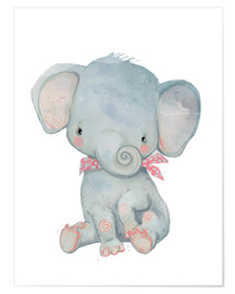 Poster  Min lilla elefant - Kidz Collection