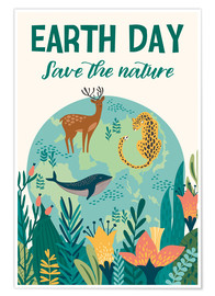 Premiumposter  Earth Day - Kidz Collection