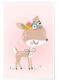 Poster  Deer Rosalie - Kidz Collection