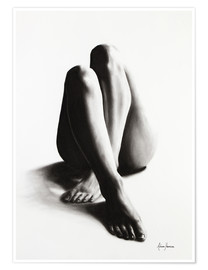Premiumposter Nude study of the legs 42